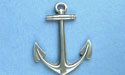 Single Anchor Brooch - Lead Free Pewter