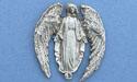 Archangel Brooch - Lead Free Pewter