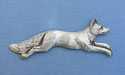 Running Fox Brooch - Lead Free Pewter