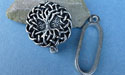 Tree of Life Pewter Button Toggle