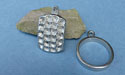 Glitter Pewter Button Toggle