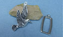 Humming Bird Pewter Button Toggle