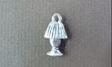 Lamp Mini-Charm - Lead Free Pewter