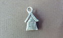 House Mini-Charm - Lead Free Pewter