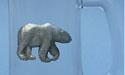 Walking Polar Bear Beer Mug - Lead Free Pewter