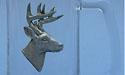 White Tail Deer Beer Mug Lead Free Pewter