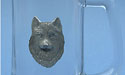 Wolf Head Beer Mug Lead Free Pewter
