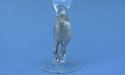 Horse on Monaco Champagne Glass - Lead Free Pewter