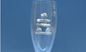 Inukshuk Champagne Glass - Lead Free Pewter