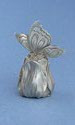 Butterfly on Tulip Candle Snuffer - Lead Free Pewter