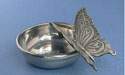 Butterfly Mint Dish - Lead Free Pewter