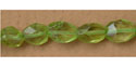 """Facetted Oval Peridot - 16"""" Strand"""