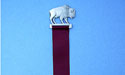Buffalo Bookmark Lead Free Pewter