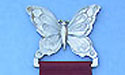 Butterfly Bookmark Lead Free Pweter