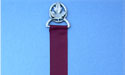 Maple Leaf in Circle Bookmark - Lead Free Pewter