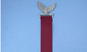 Eagle Bookmark Lead Free Pewter