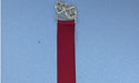 Comedy & Tragedy Bookmark - Lead Free Pewter