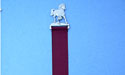 Frisky Foal Bookmark - Lead Free Pewter