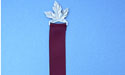 Maple Leaf Bookmark - Lead Free Pewter