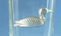 Loon Shot Glass Lead Free Pewter