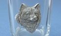 Wolf Shot Glass Lead Free Pewter