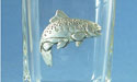 Trout Shot Glass Lead Free Pewter