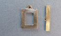 Small Square Toggle - Lead Free Pewter