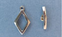 Small Diamond Toggle - Lead Free Pewter