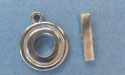 Small Circle Toggle - Lead Free Pewter