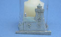 Lighthouse Two Piece Votive Holder - Lead Free Pewter