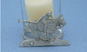 Polo Two Piece Votive Holder - Lead Free Pewter