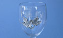 Maple Leaf Wine Glass - Lead Free Pewter