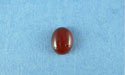 6x8mm Red Agate Oval Cabochon
