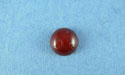 10mm Red Agate Round Cabochon
