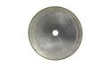 "5"" x .006 x .009 x 5/8 x 1/2 Silver Thin Notched Rim Diamond Blade"