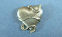 Heart with Ribbon Lapel Pin - Lead Free Pewter