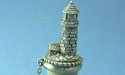 Lighthouse Wine Stopper - Lead Free Pewter