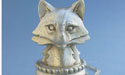 Fox Head Wine Stopper - Lead Free Pewter