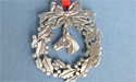 Wreath Ornament with Horse Charm