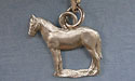 Standing Horse Zipper Puller - Lead Free Pewter