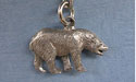 Bear Zipper Puller Lead Free Pewter