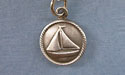 Sailing Ship Zipper Puller - Lead Free Pewter