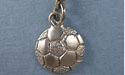 Soccerball Zipper Puller - Lead Free Pewter