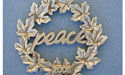 2008 Wreath Annual Ornament - Lead Free Pewter