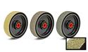Premium Dark Green Rez Diamond Resin Smoothing Wheel 6 X 1.5 X 60 grit